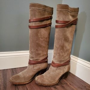 Frye Suede Jane Boot
